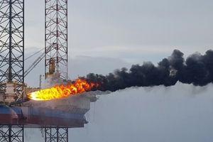 Vietsovpetro đón dòng dầu đầu tiên từ Giàn CTC1-WHP mỏ Cá Tầm