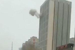 Nổ lớn gây thương vong tại chung cư cao tầng ở Trung Quốc