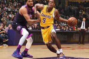 Rajon Rondo trở lại, Lakers vẫn thua tiếp