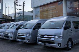 Toyota bán lô xe trị giá hơn 200 tỷ đồng cho doanh nghiệp Phương Trang