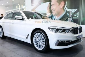 Cận cảnh BMW 5 Series hoàn toàn mới vừa ra mắt thị trường Việt Nam