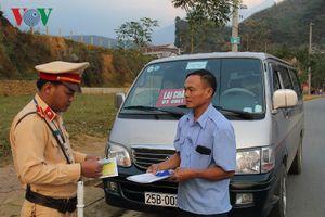 Lai Châu phát hiện 13 lái xe dương tính với ma túy