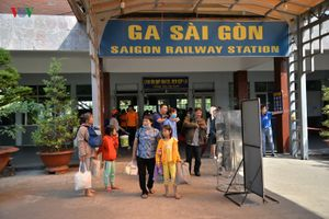 Ga Sài Gòn bắt đầu phục vụ cao điểm Tết