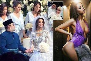 Rộ tin nhà vua Malaysia và Hoa hậu nóng bỏng của Nga ly hôn sau đám cưới hoành tráng 2 tháng