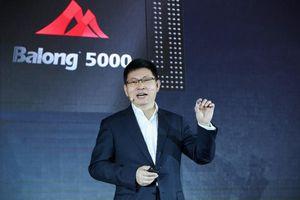 Huawei ra mắt chip 5G Balong 5000, sẽ có mặt trên smartphone Huawei tại MWC 2019