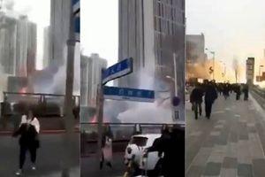 Nghi phạm tự sát sau khi gây nổ liên tiếp tại tòa nhà ở Trung Quốc