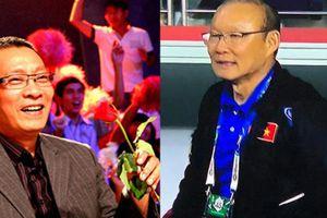 MC Lại Văn Sâm nói 'chuyện vui sau trận Tứ kết'