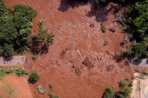 Vỡ đập ngăn chất thải tại Brazil, bảy người chết, hàng trăm người mất tích