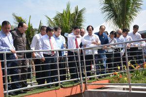 Nhà máy xử lý nước thải công nghệ vi sinh đầu tiên của Việt Nam chính thức hoạt động