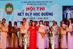 Cần Thơ: Sôi nổi đêm chung kết Hội thi 'Nét đẹp học đường'