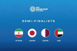 Lịch thi đấu bán kết Asian Cup 2019: 'Chung kết sớm' Iran vs Nhật Bản