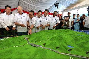 Malaysia hủy dự án đường sắt 20 tỷ USD vốn Trung Quốc