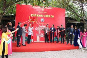 Hà Nội: Thực hiện lễ gắn biển tên phố Khúc Thừa Dụ, Tú Mỡ và Nguyễn Quốc Trị