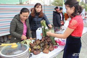 Các đặc sản miền núi Nghệ An có mặt tại hội chợ sắc xuân miền Tây