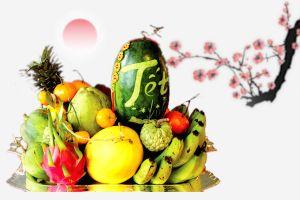 Các loại trái cây chưng mâm ngũ quả tăng giá mạnh