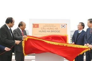 Thủ tướng tham dự lễ thông xe công trình kết nối 2 cao tốc Hà Nội - Hải Phòng và Cầu Giẽ - Ninh Bình