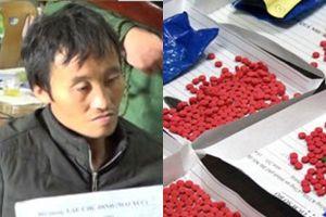 Vận chuyển 1.400 viên ma túy với giá 700 nghìn đồng, người đàn ông Lào sa lưới