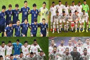 Lịch thi đấu và trực tiếp vòng bán kết Asian Cup 2019: Iran - Nhật Bản, Qatar - UAE