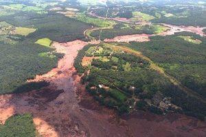 Vỡ đập ở Brazil, 7 người chết và 150 người mất tích