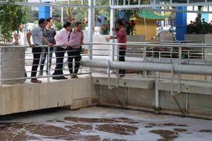 Bình Dương: Khánh thành nhà máy xử lí nước thải thân thiện với môi trường