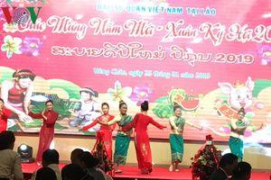 Đại sứ quán Việt Nam tại Lào tổ chức tiệc chiêu đãi mừng xuân Kỷ Hợi