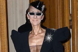 Celine Dion lộ thân hình gầy gò khi diện đồ hở bạo
