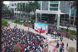 Hơn 1.300 sinh viên tham gia 'Cùng PVOIL về quê đón Tết'