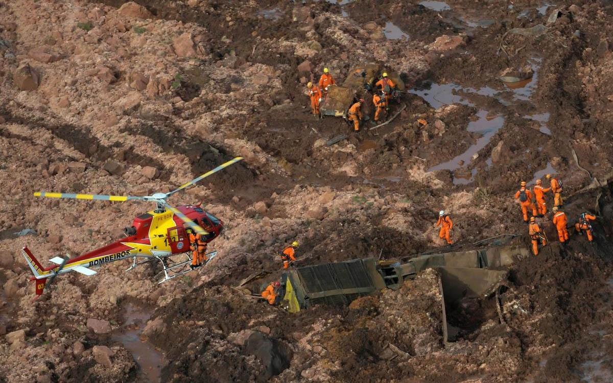 Số người thiệt mạng vì vụ vỡ đập ở Brazil tiếp tục tăng cao