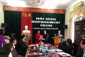 Bà Nguyễn Mai Loan làm Phó ban Nội chính tỉnh Lạng Sơn