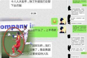 Biết 4 cầu thủ Trung Quốc bán độ trận thua Iran 0-3, HLV Lippi từ chức?
