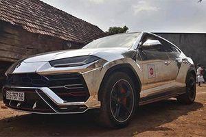 Lamborghini Urus 23 tỷ của đại gia Minh Nhựa thay áo crôm bạc 'cực chất'