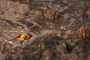 Vỡ đập ở Brazil: Ít nhất 34 người chết, hàng trăm người mất tích