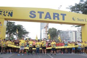 Hơn 3000 người tham gia đường chạy 'Khởi đầu tỏa sáng – Resolution Run 2019'