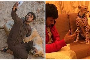 Xem giới nhà giàu ở Dubai nuôi thú cưng 'khủng'
