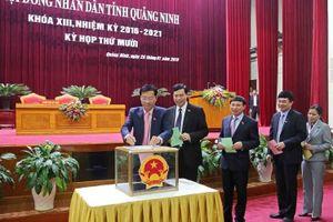 Quảng Ninh thay đổi nhiều nhân sự chủ chốt của HĐND, UBND tỉnh