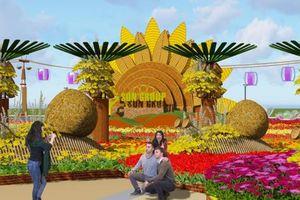 Chơi Tết, không đâu bằng đi Đà Nẵng ngắm đường hoa, xem Cầu Vàng 'xuống phố'