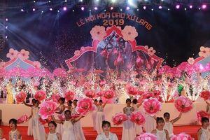 Lạng Sơn: Tưng bừng lễ hội hoa Đào Xứ Lạng 2019