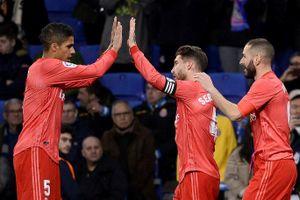 Benzema thăng hoa, Real Madrid tái chiếm vị trí thứ ba