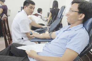 Các trường miền núi hiến 79 đơn vị máu