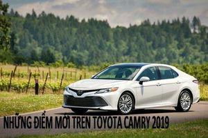 Điểm mới trên Toyota Camry 2019 chuẩn bị nhập về Việt Nam