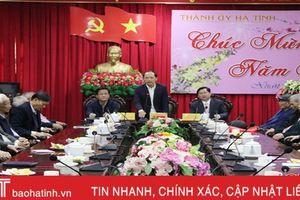 Thành phố Hà Tĩnh gặp mặt cán bộ lãnh đạo qua các thời kỳ