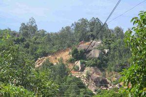 Bình Định: Khai thác đá trái phép phía Đông núi Hòn Chà - Phê bình Sở Tài nguyên và Môi trường, UBND TP. Quy Nhơn