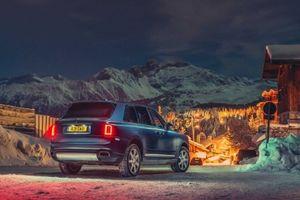 Pháp: Rolls-Royce Cullinan trở thành chiếc taxi sang trọng của khu nghỉ mát trượt tuyết