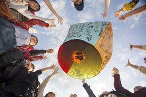 Rực rỡ sắc màu lễ hội đèn lồng ở Đài Loan
