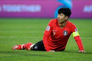 Tuyển Hàn Quốc sút nhiều, hiệu quả kém tại Asian Cup 2019