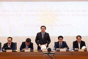 Phó Thủ tướng lưu ý về việc thu hút vốn đầu tư nước ngoài tại Hà Nội