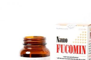 Cẩn trọng khi mua sản phẩm Nano Fucomin trên website vi phạm quy định quảng cáo