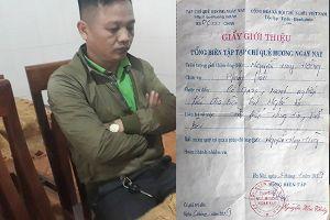 Người đàn ông xưng phóng viên nghi tống tiền doanh nghiệp được trả tự do