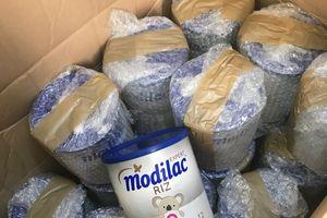 Sữa Pháp nghi nghiễm vi khuẩn Salmonella đã được nhập về Việt Nam