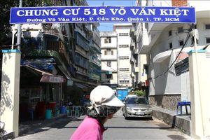 'Thúc' giám định nguyên nhân gây lún chung cư 518 Võ Văn Kiệt, TP Hồ Chí Minh